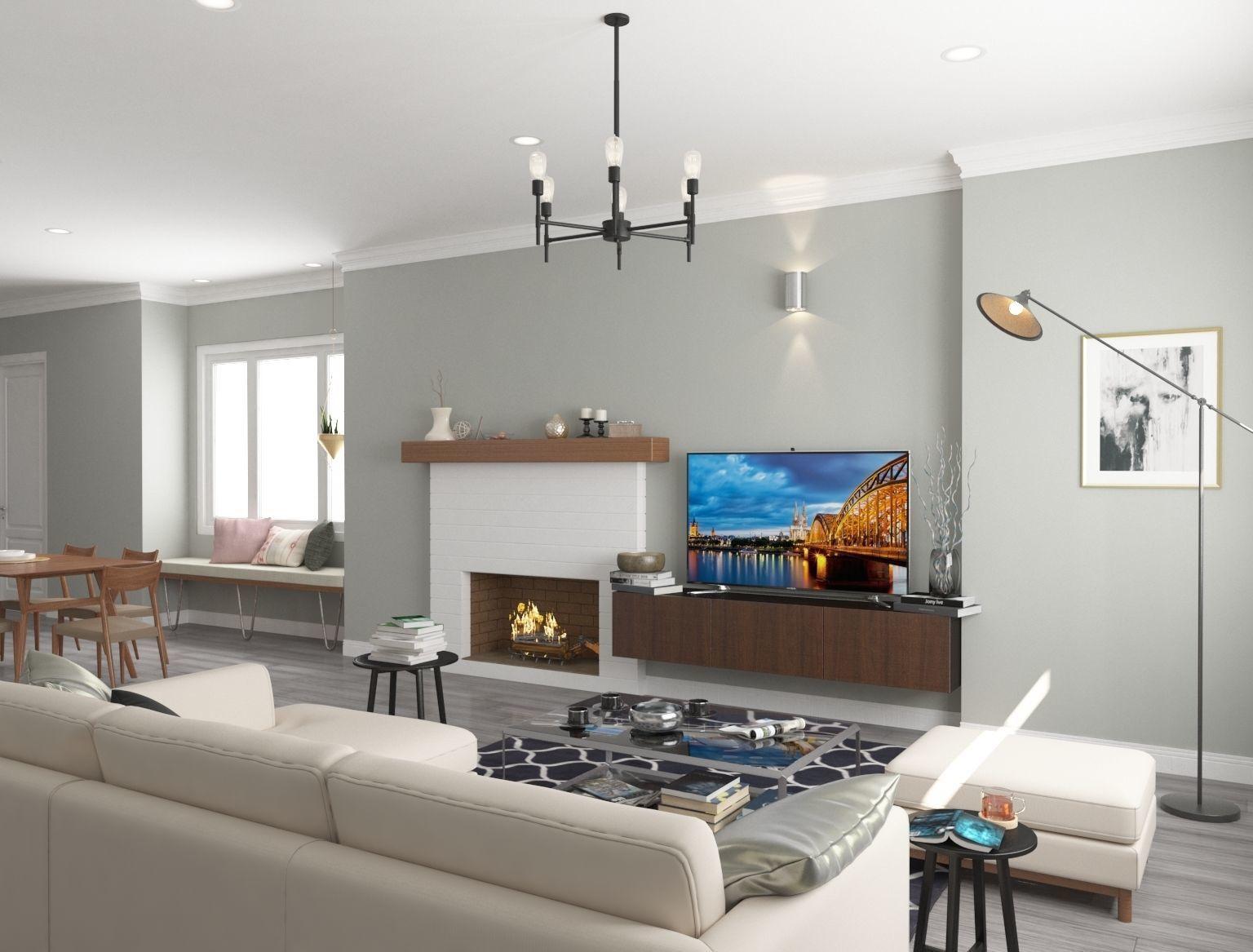 Furnished Living Room, Furnished Living Rooms