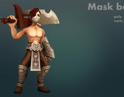 Mask boy 3D Model