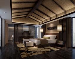 Luxury bed room 3D