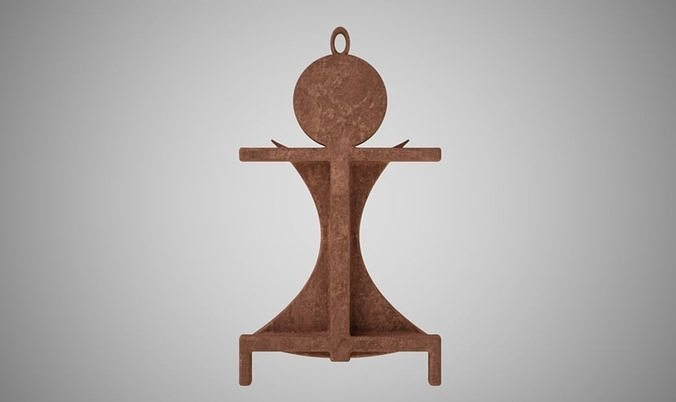 primitive necklace 3d model obj mtl stl 3mf 1