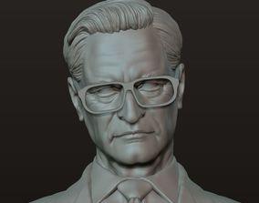 Old Gentlema Bust Statue 3D printable model