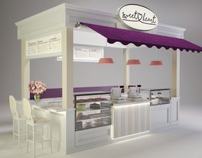 3D Sweetheart Cake Booth