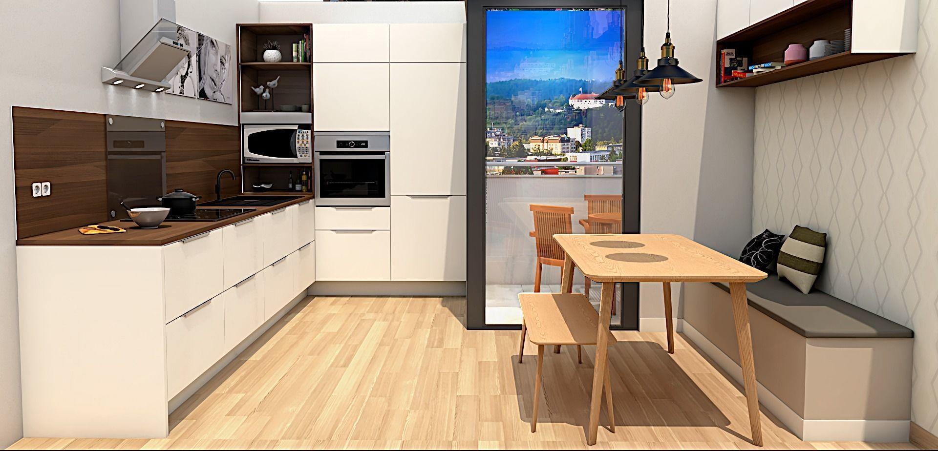 modern kitchen 3d model | 3D model
