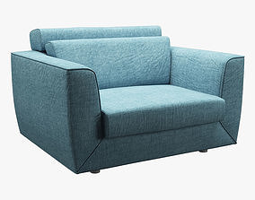 Photorealistic Sofa 006 3D asset
