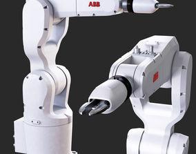 3D model industrial robot IRB 1200