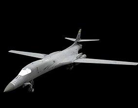 3D asset B-1B Lancer Lowpoly