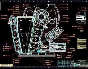 Sandvik Jaw Crusher 907 complete 3D