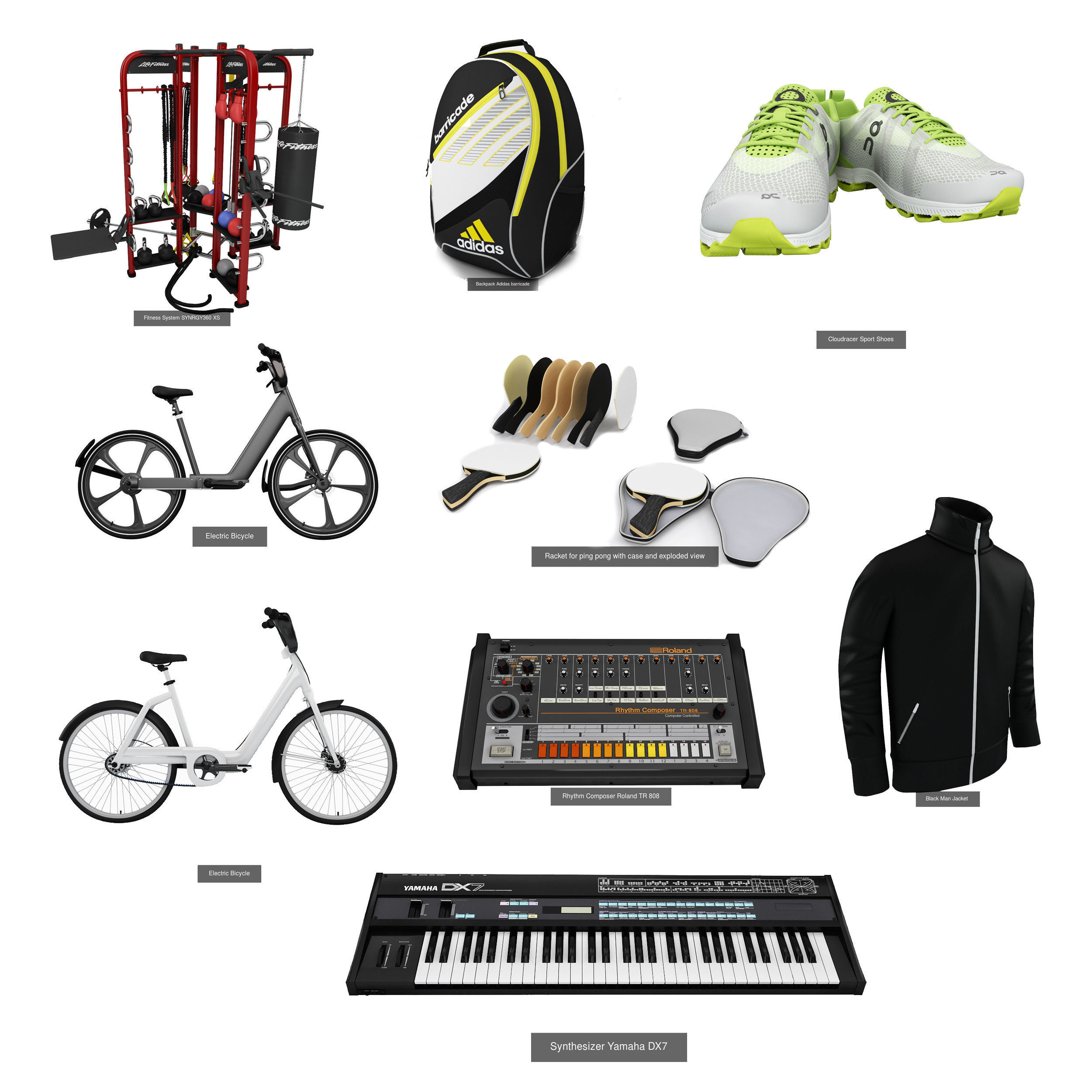Sport and Hobbies 9 in 1