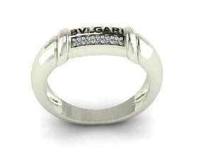 3D print model bvlgari fashion ring