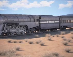 3D 20th Century Limited Hudson Train