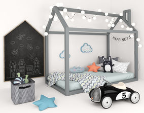 3D Bed - house with accessories for children 2