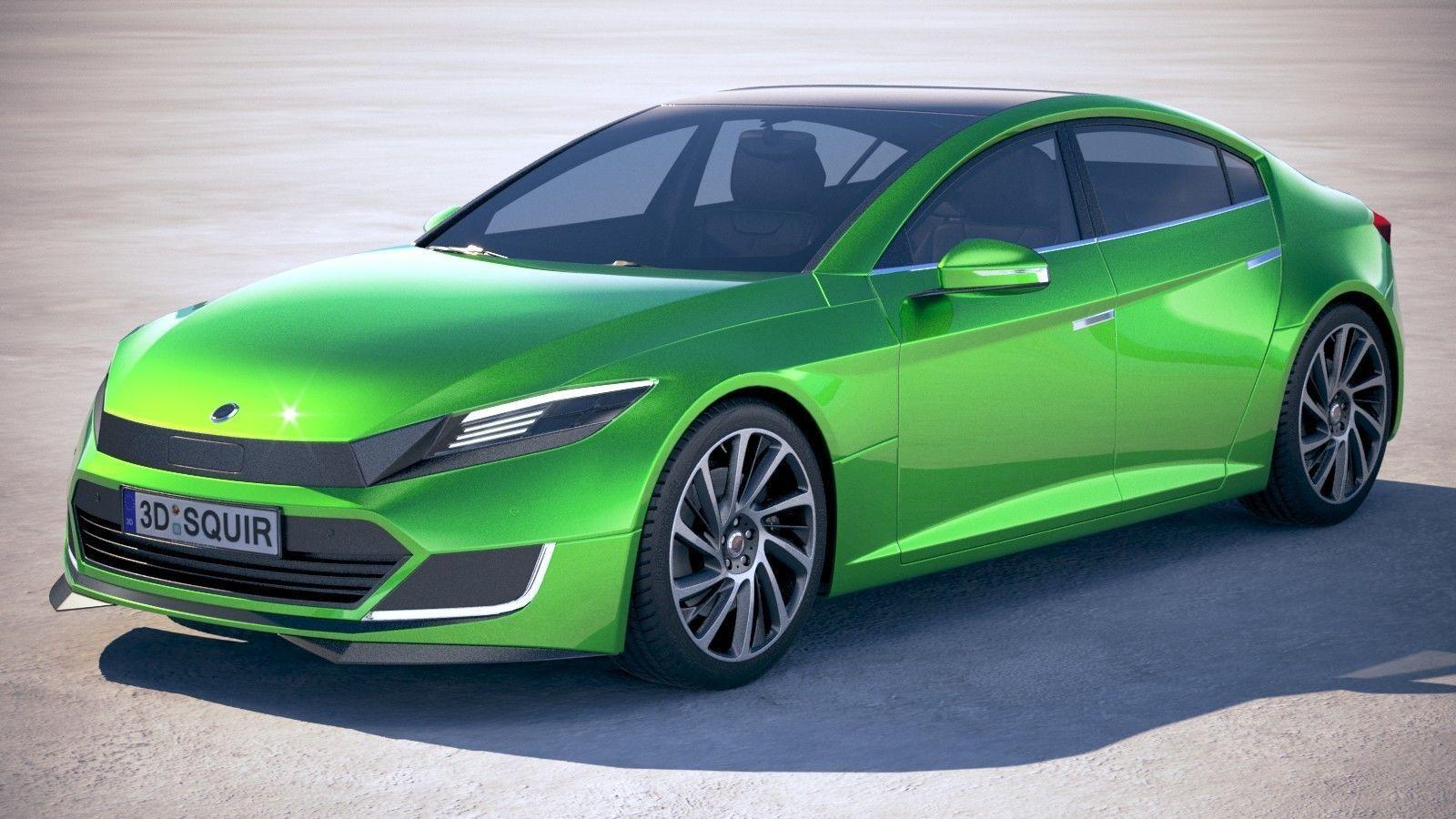 Generic Electric Sedan 2 2017
