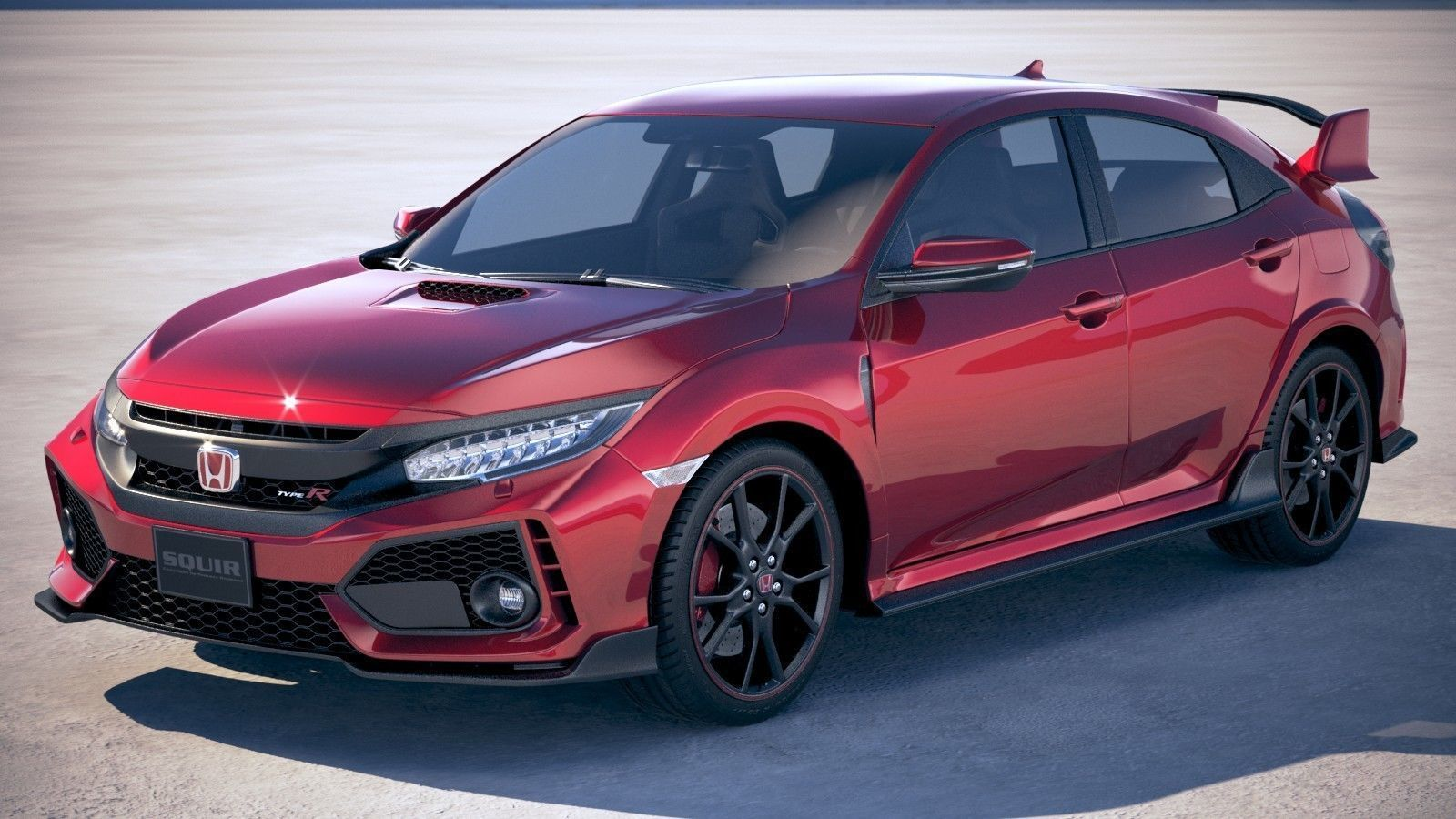 3D Honda Civic Type R 2018 | CGTrader