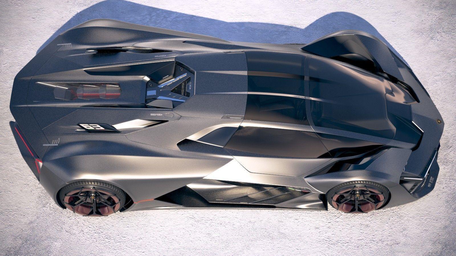 Lamborghini Terzo Millennio 2018 Model Max Obj Mtl S Fbx C4d Lwo Lw Lws 8