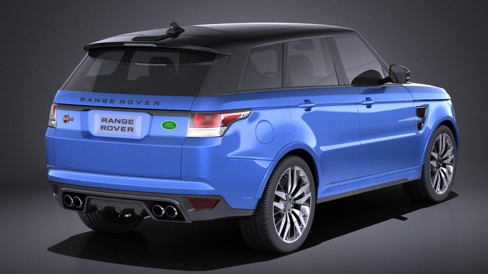 Land Rover Range Sport Svr 2017 Vray Model Max Obj Mtl S Fbx C4d