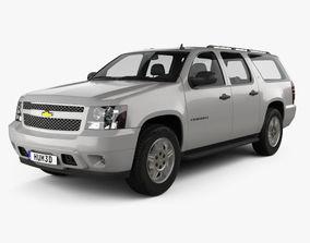3D model Chevrolet Suburban LT 2007