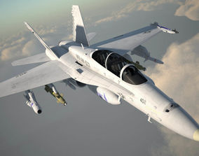 3D model McDonnell Douglas FA-18 Hornet