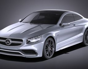 Mercedes-Benz S63 AMG Coupe 2016 VRAY 3D