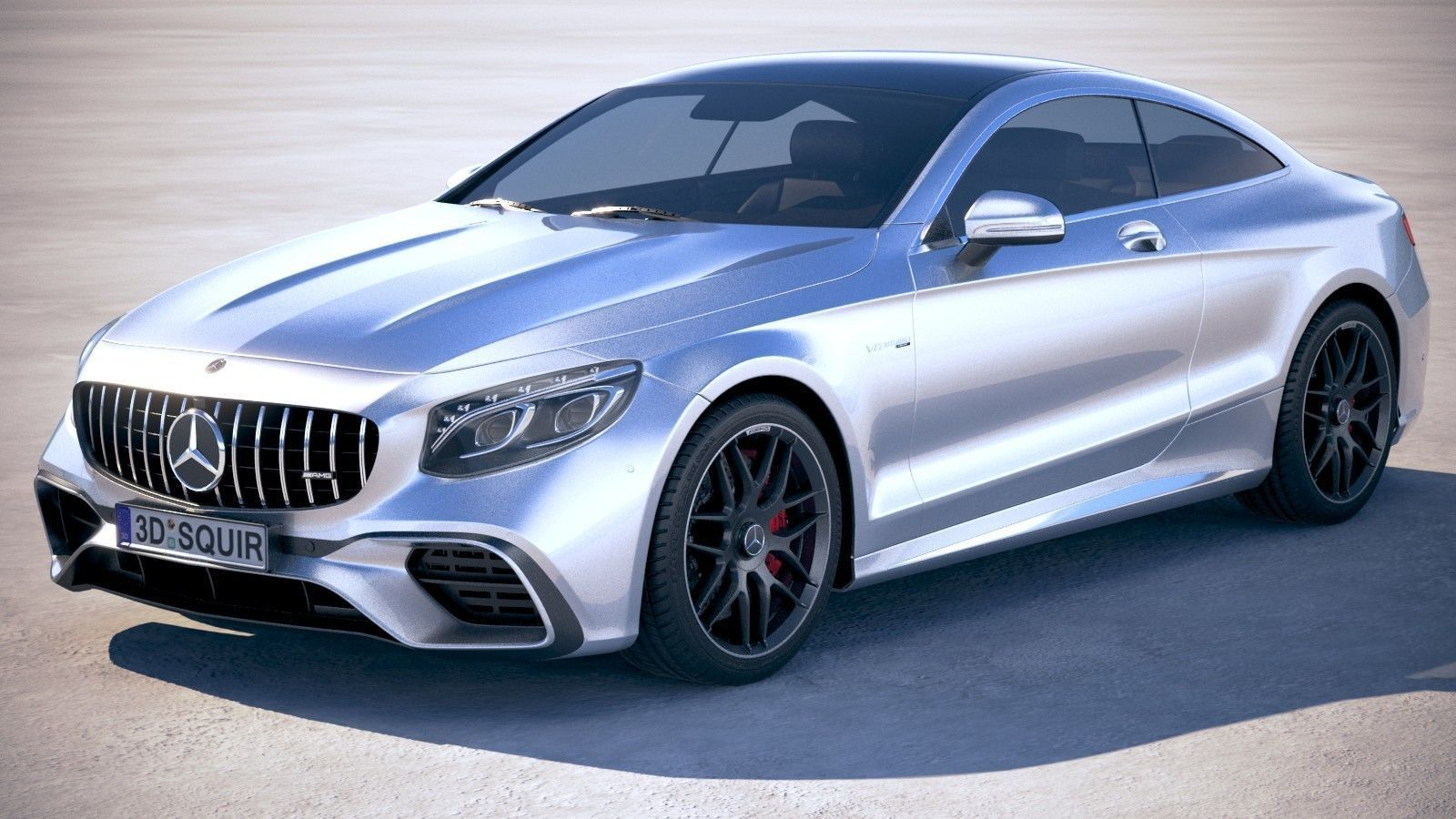 S63 Amg Coupe >> Mercedes S63 Amg Coupe 2018 3d Model
