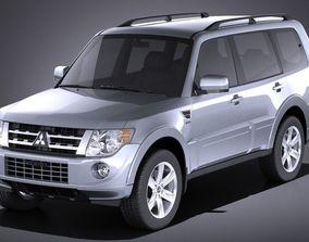 Mitsubishi Pajero 2006-2014 VRAY 3D