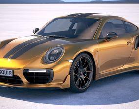 Porsche 911 Turbo S Exclusive Series 2018 3D model