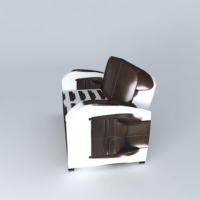 Sofa harvard maisons du monde 3d model max obj 3ds fbx - Maison du monde sofa ...