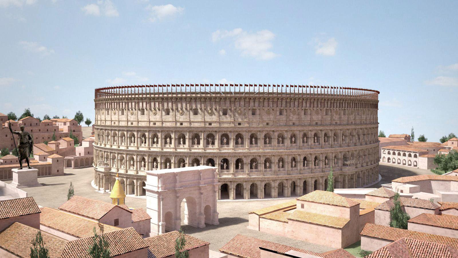 Roman Colosseum High detailed