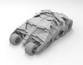 Batmobile 3D printable model
