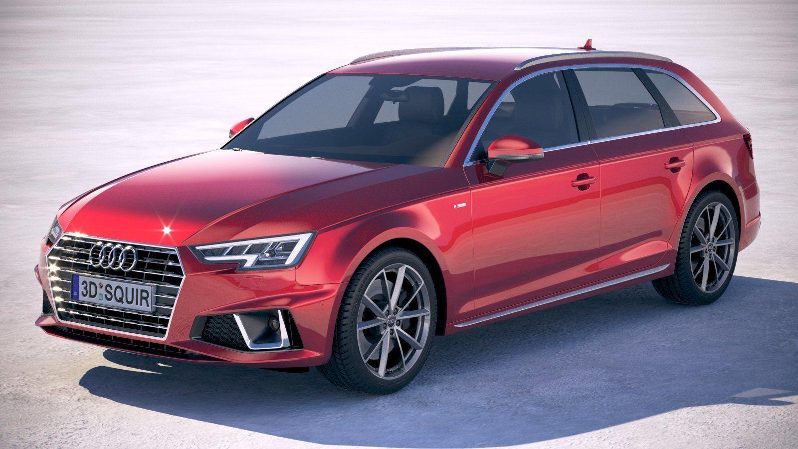 Audi A4 S-Line Avant 2019