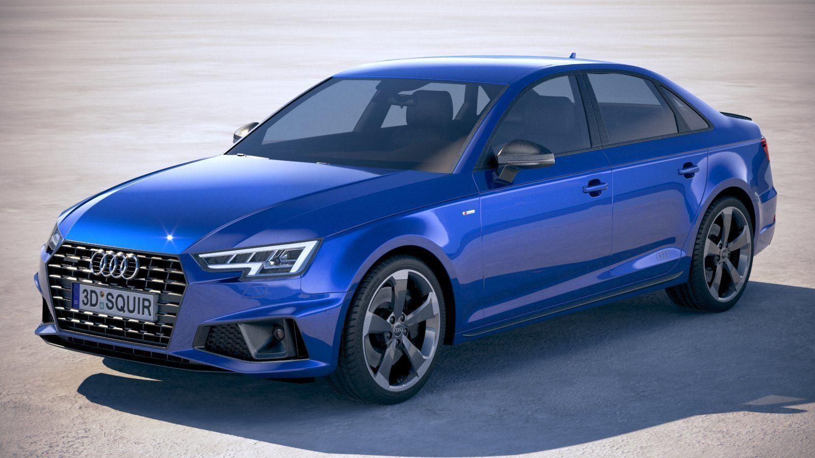 Audi A4 S-Line Sedan 2019