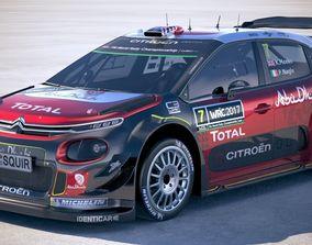 Citroen C3 WRC 2018 3D model