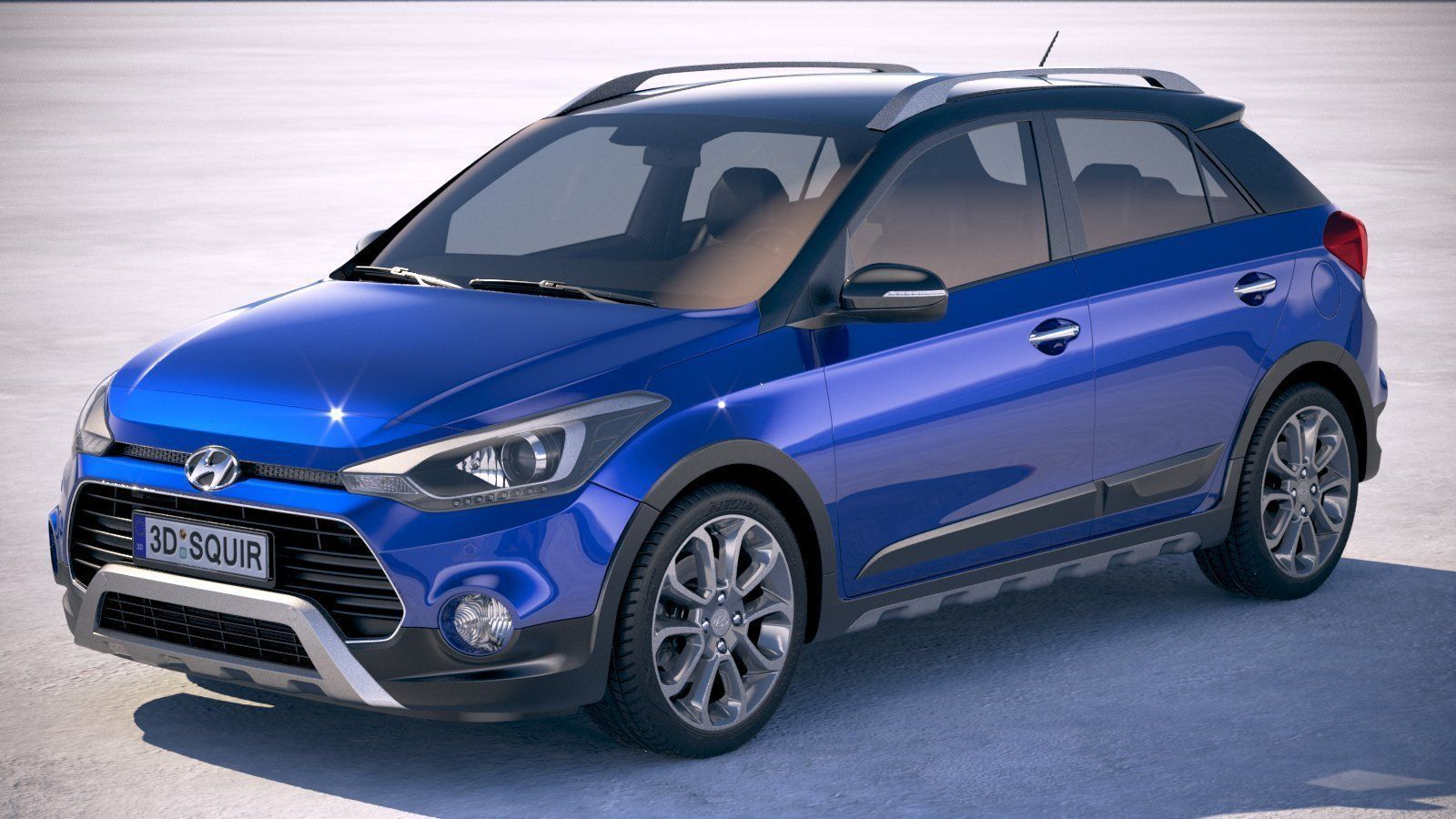 3d Hyundai I20 Active 2019 Cgtrader
