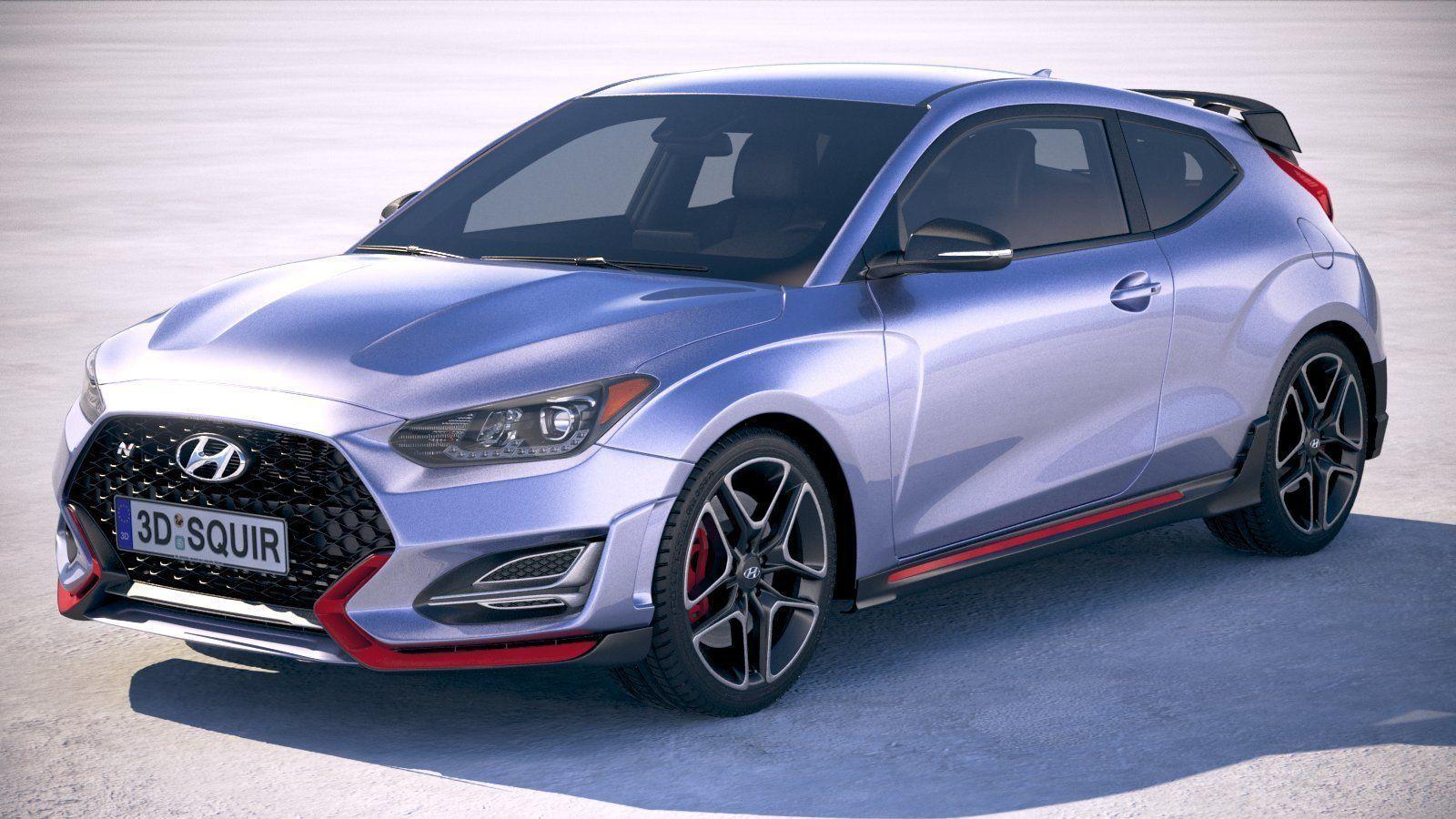 Hyundai Veloster N 2019 3D | CGTrader