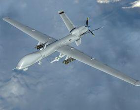 3D model General Atomics MQ-9 Reaper