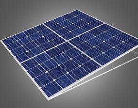 3D roof Solar panel