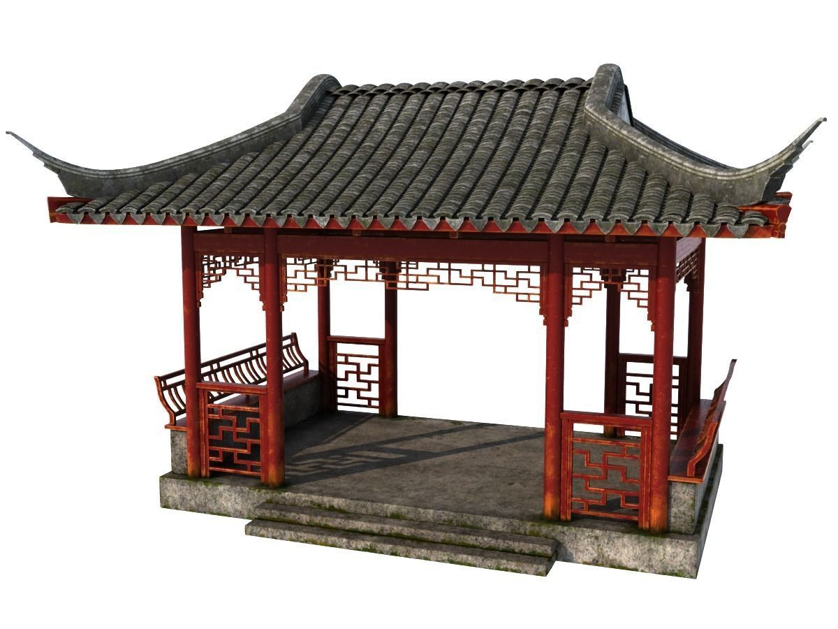 Chinese Rectangle Pavilion