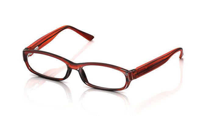 4eb37261e13 Eyeglass for Men 3D model 3D printable OBJ MTL FBX STL 3DM