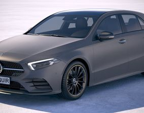 3D model Mercedes A-Class AMG 2019