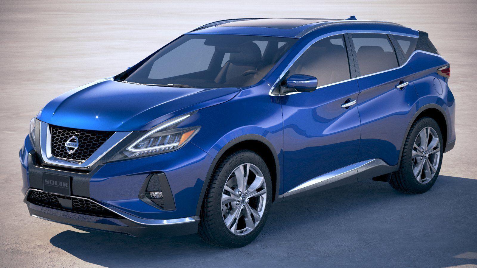 3D Nissan Murano 2019   CGTrader