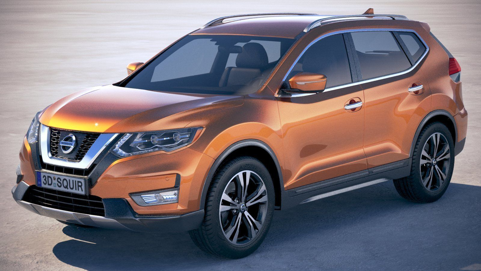 Nissan X-Trail Crossover 2018