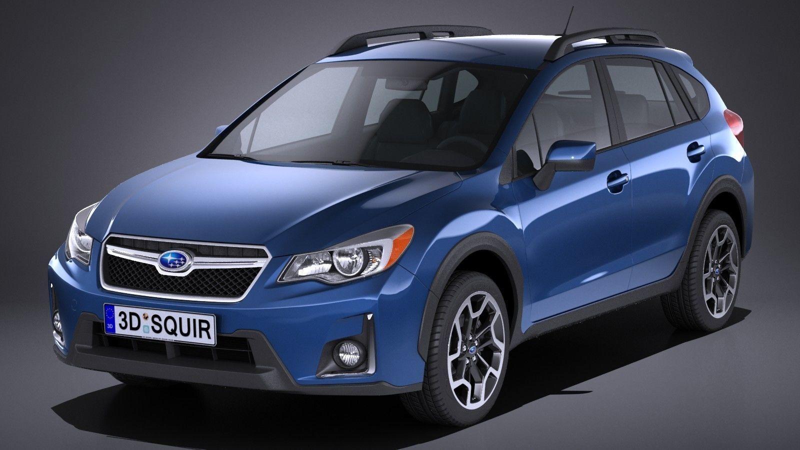 Subaru Crosstrek 2018 3D