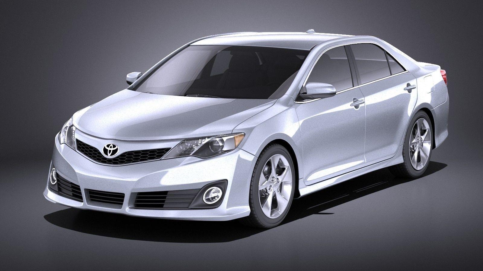 3d Model Toyota Camry Se 2013 Usa Vray