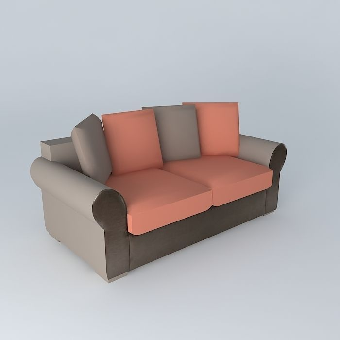 3-Seat Sofa bed ANTIGUA Houses of the world | 3D model