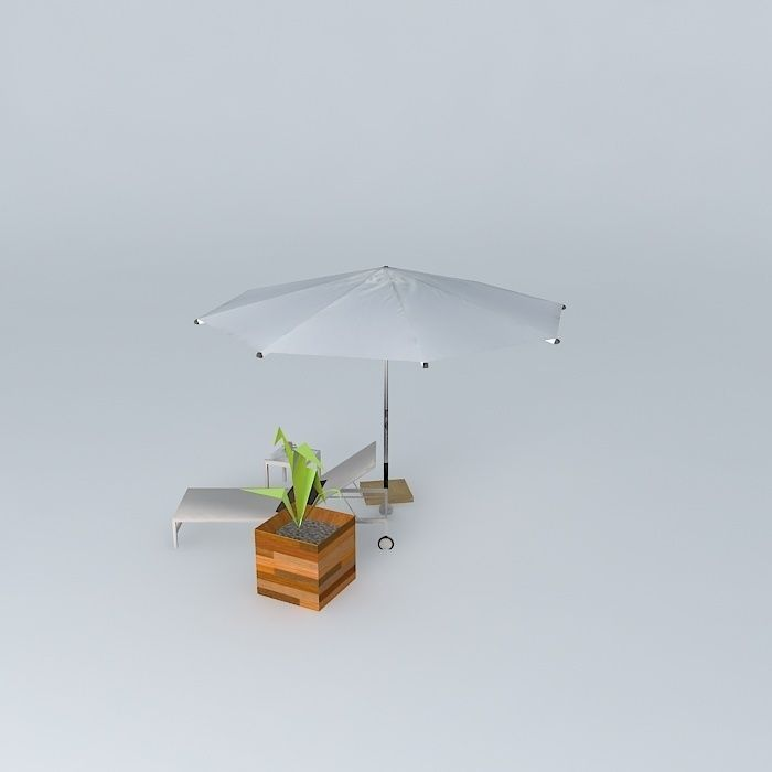 The garden furniture antalya maisons du monde 3d model max for Maison du monde outdoor