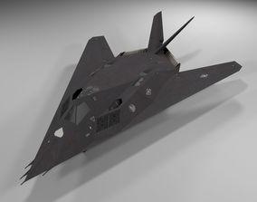 3D model f-117 nighthawk Lowpoly