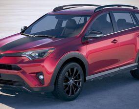 3D model Toyota RAV4 Adventure 2018