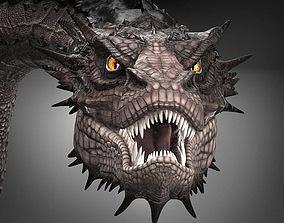 Smaug Hobbit Dragon 3D model