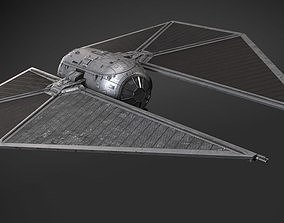 Star Wars Tie Striker 3D model