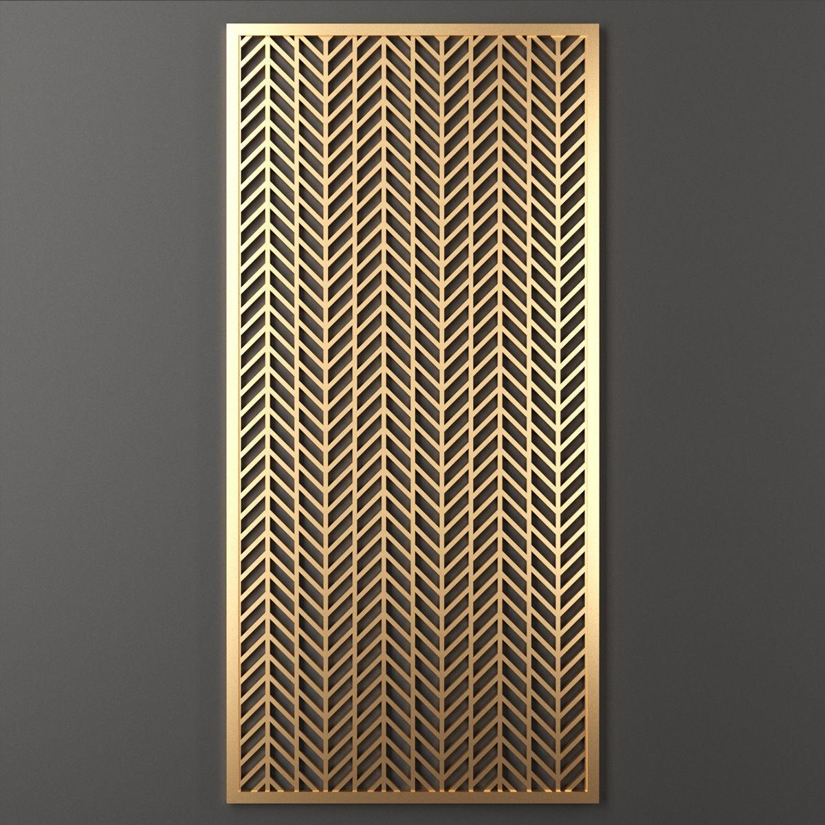 Decorative panel 135   3D model
