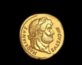 avgust coin-3d print model